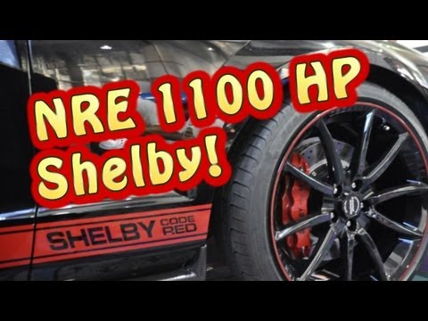 Shelby 1200 HP Code Red DOHC Ford Modular Engine. Nelson Racing ...