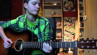 One Direction-Half a Heart (Acoustic Guitar Cover)