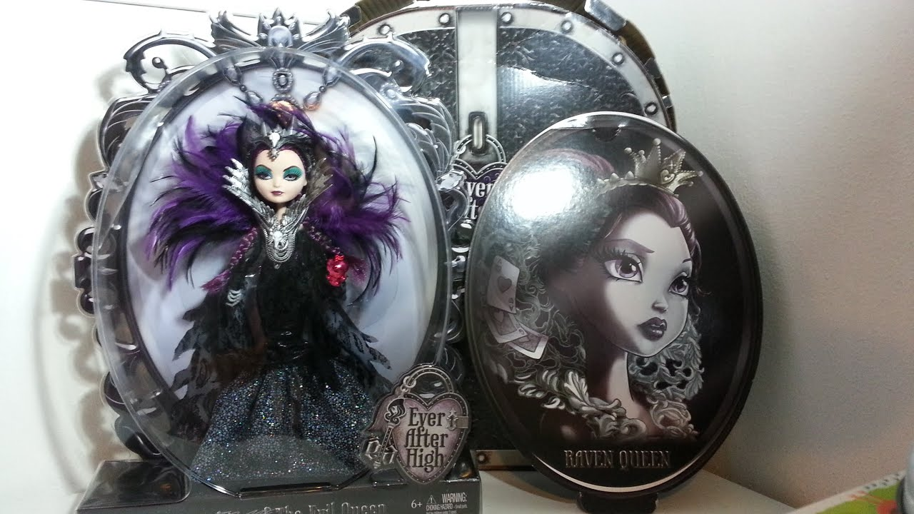 UnboxReview Ever After High SDCC 2015 Raven Queen YouTube