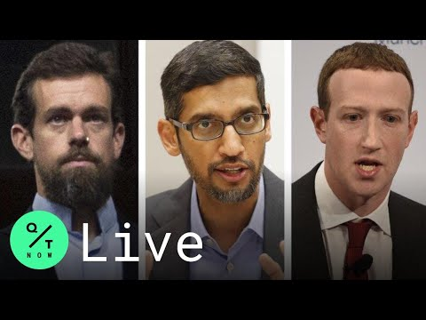 LIVE: Facebook, Google and Twitter CEOs Face Senate Grilling Over Bias