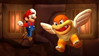 New Super Mario Bros. U Deluxe Walkthrough World 6 - Rock Candy Mines (All Star Coins)