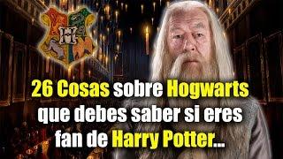 26 Cosas sobre Hogwarts que debes saber si eres fan de Harry Potter