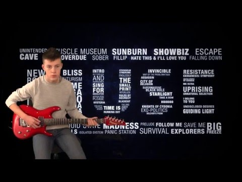 Ibanez JS 1200 Joe Satriani Guitar playing Muse Aftermath