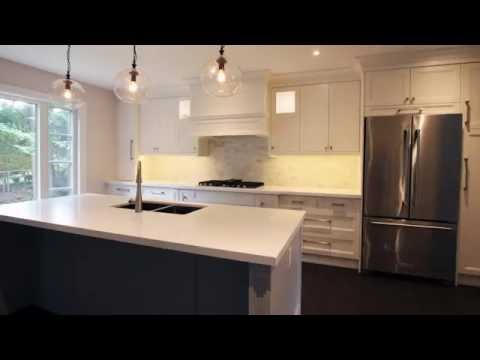 Off White Kitchen Mdf Doors Double Shaker Style Youtube