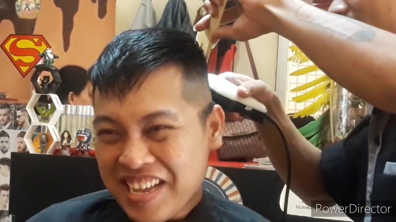 Model rambut haigh fade - YouTube