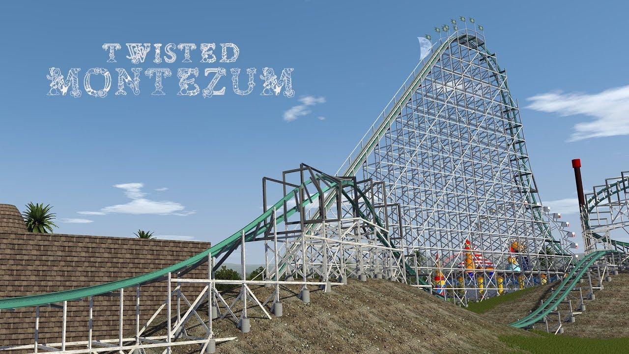 Twisted Montezum - NoLimits 2 (RMC Coaster) - YouTube
