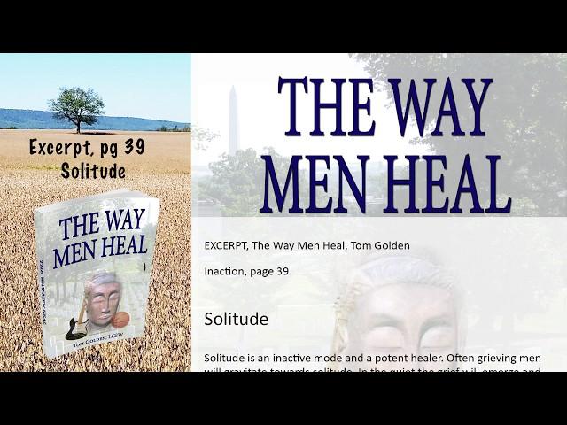 Excerpt The Way Men Heal --  Solitude