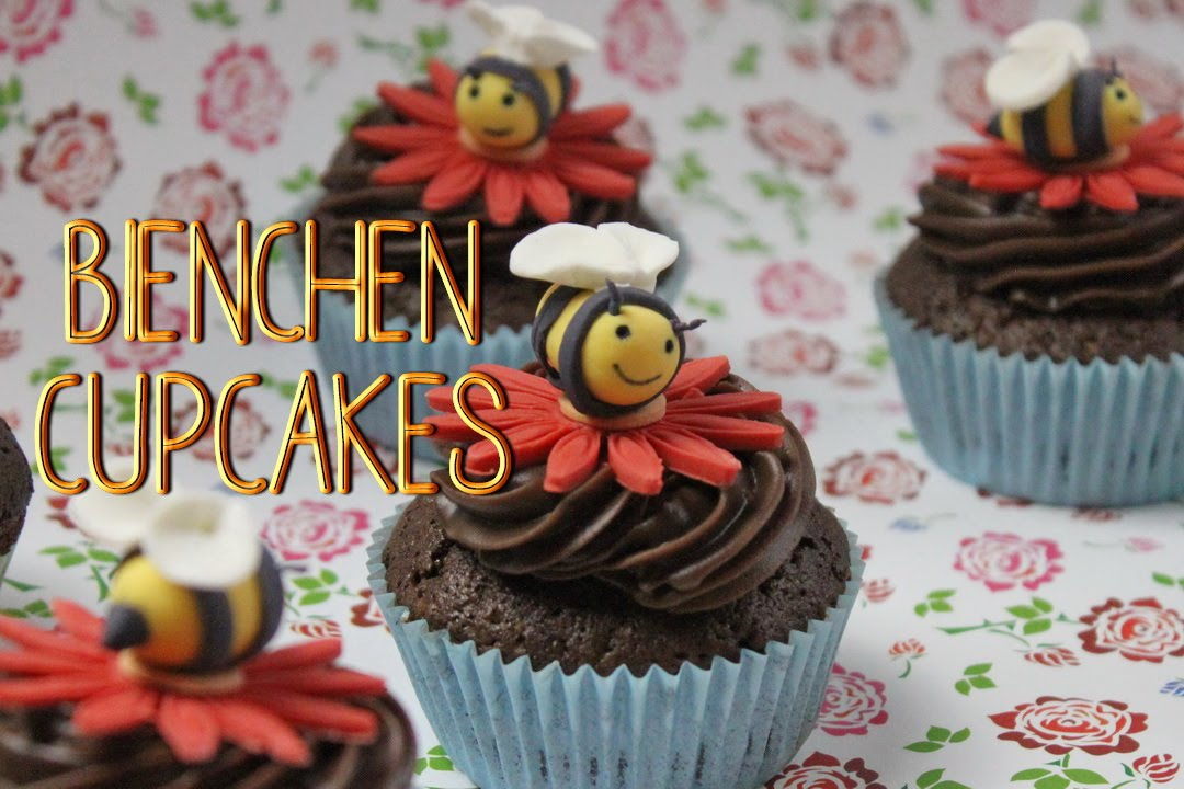 bienen cupcake topping cupcakes dekorieren f r kindergeburtstag youtube. Black Bedroom Furniture Sets. Home Design Ideas