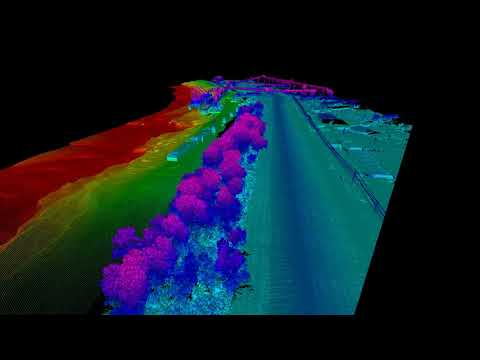 Combining Hydrographic and Aerial LiDAR data