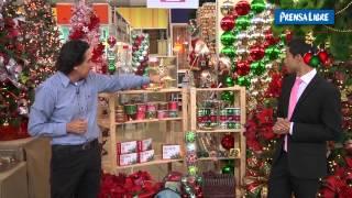 Decoración del árbol navideño; tendencias de colores e innovadores adornos