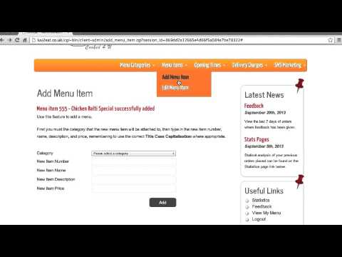Luv2Eat - Admin Portal