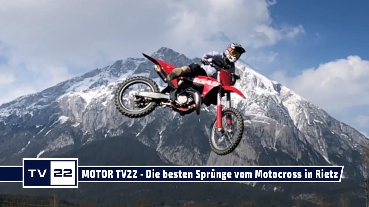 MOTOR TV22: Die besten Sprünge vom Motocross Training in Rietz