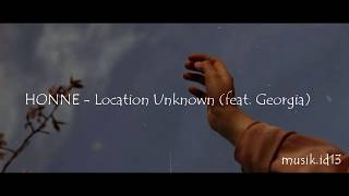 Location Unknown - HONNE (feat. Georgia)