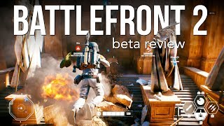Star Wars Battlefront 2 - Beta Review - PS4 Pro Gameplay