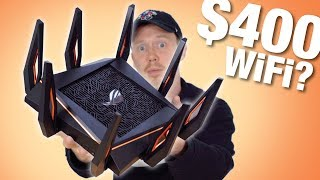is the 400 ASUS ROG Rapture GT AX11000 Gaming Router WORTH IT?