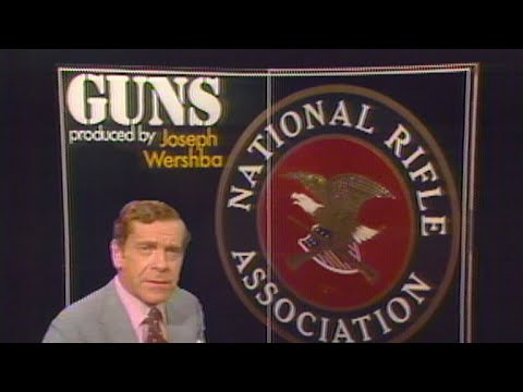 60 Minutes archives: Understanding the NRA