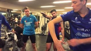 видео: Специальная физическая подготовка триатлета. Тренировка команды Mail.Ru от Игоря Сысоева