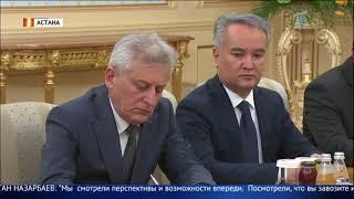Президент Таджикистана Эмомали Рахмон прибыл в Астану с официальным визитом