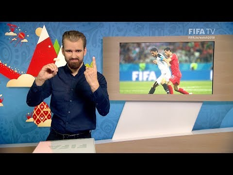 FIFA WC 2018 - SUI vs. CRC – for Deaf and Hard of Hearing - International Sign