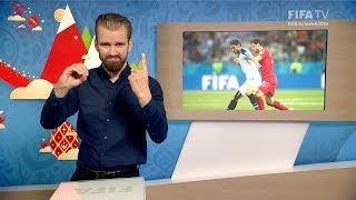 fifa wc 2018 - sui vs crc  for deaf and hard of hearing - international sign