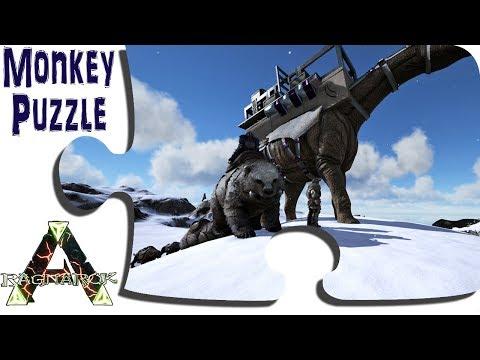 Exploring Ragnarok In Game - Ep 27 - Overland To The Western Murder Murder Snow - ARK Map DLC