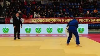Спорт. Дзюдо. Чемпионат Кыргызстана-2020. День 1 Татами А Часть 4