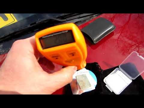 Толщиномер RM200 Тест лакокрасочного покрытия оцинкованных авто