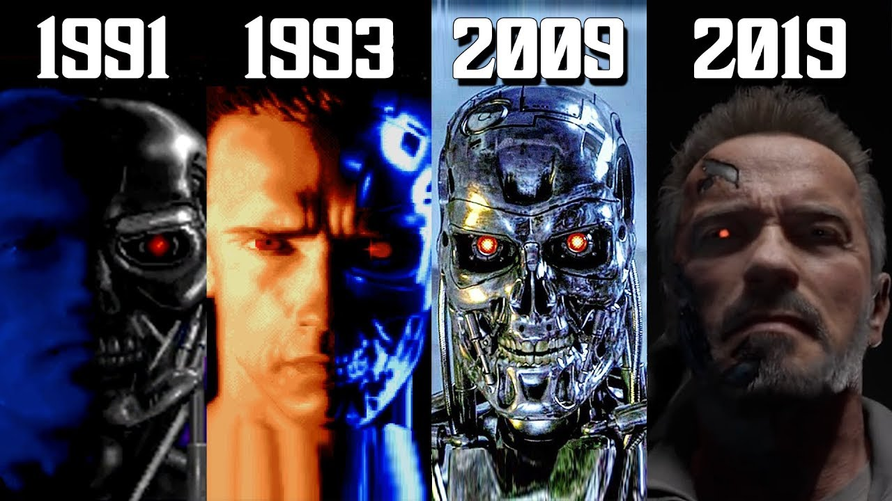The Evolution of The Terminator in Video Games! (1991-2019)