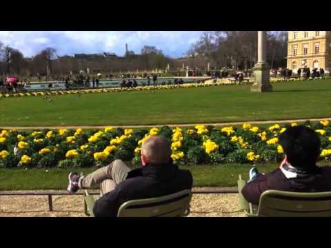 An Easter in Jardin du Luxembourg