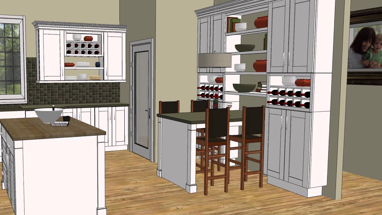 Hampton Bay Kitchen Cabinets Trailer Decorative Island End Panels - Youtube