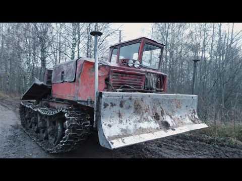 ТОЛЬКО ПЬЯНЫМ НЕ СТРАШНО!!! Трелёвочный ТДТ- 55