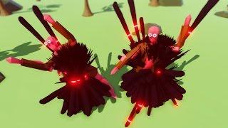 INFINITE SPIKES! DARK PEASANT vs GIANTS! (TABS - Totally Accurate Battle Simulator)