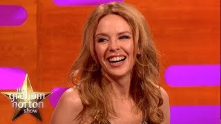 Kylie Minogue On The 'can't Get You Out Of My Head' Dance | The Grah
