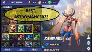 WH CH ASTROMANCER SHOULD YOU BU LD F RST Dungeon Hunter Champions DHC