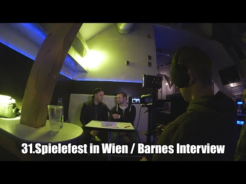 31.Spielefest in Wien / Barnes Interview  - Videoblog