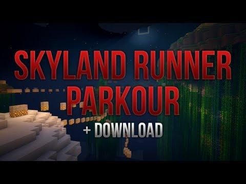 Minecraft - Skyland Runner Parkour + DOWNLOAD