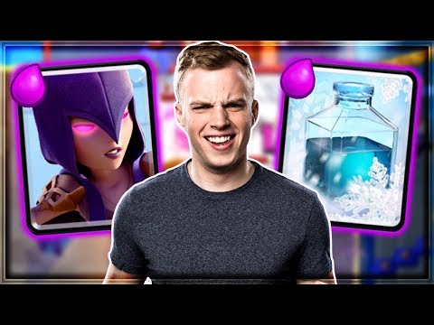 Clash Royale - WITCH FREEZE! Instant Wins