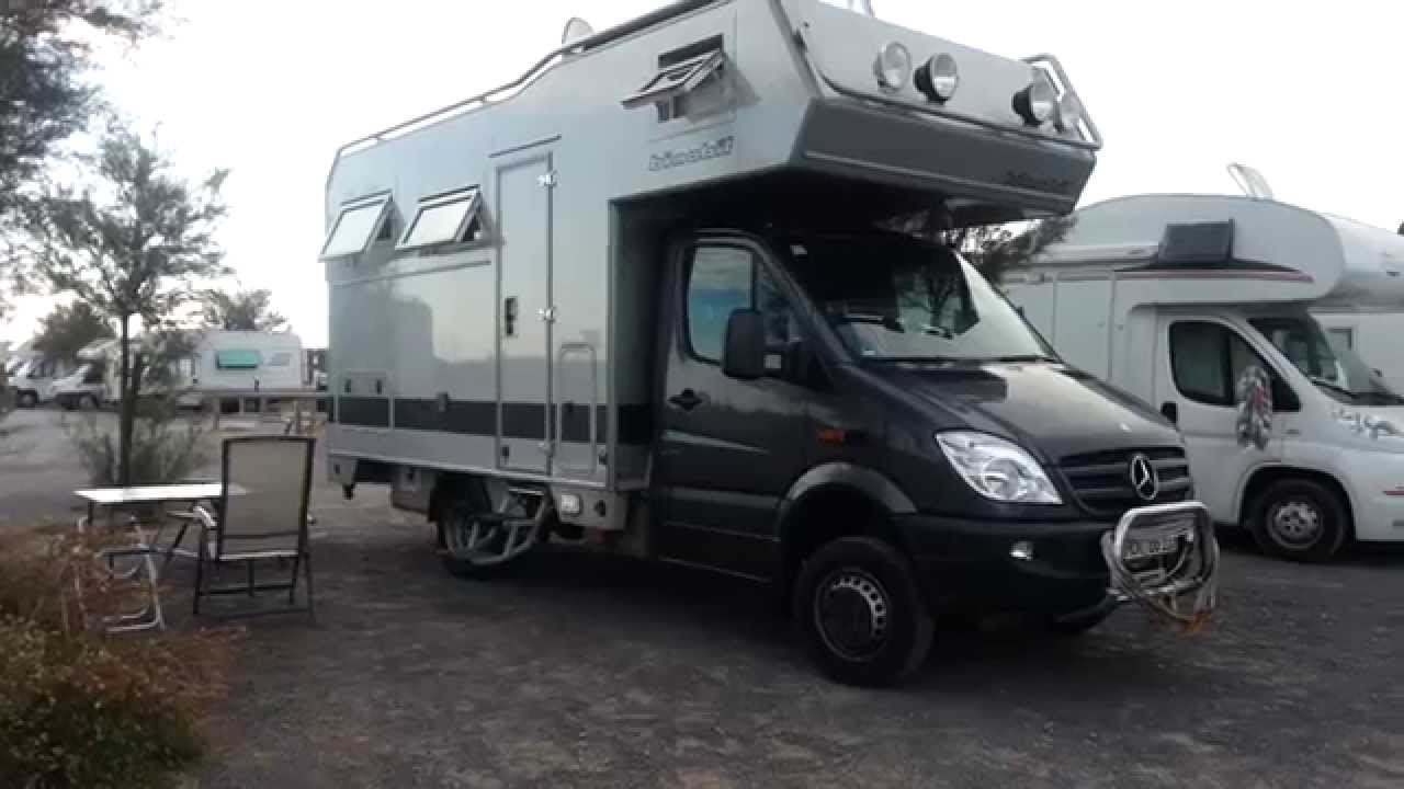 sprinter 4x4 bimobil camping car youtube. Black Bedroom Furniture Sets. Home Design Ideas