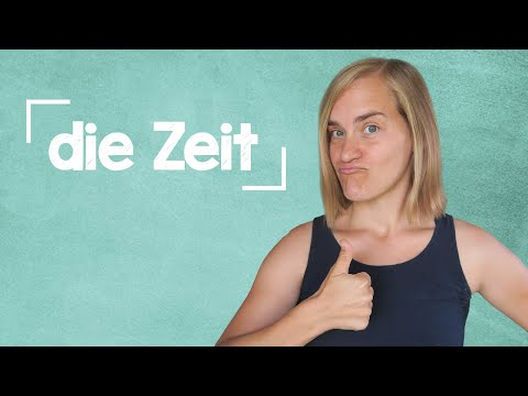 German Lesson (16) - Expressions of Time - Part 1: Vocab, Phrases and Listening - B1-B2