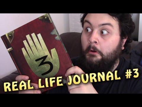 REAL LIFE JOURNAL 3 - Gravity Falls - Unboxing Video - MrFreakins