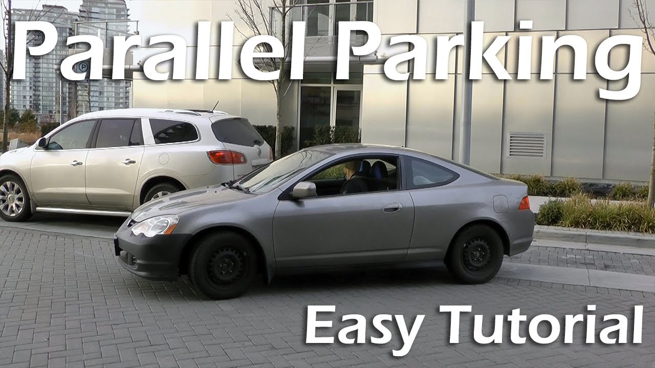 How To Parallel Park Easy 4 Step Tutorial Youtube