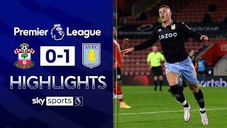 Ings injury time equaliser disallowed! | Southampton 0-1 Aston Villa | EPL Highlights