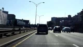 Massachusetts Turnpike (Interstate 90 Exits 24 to 15) westbound