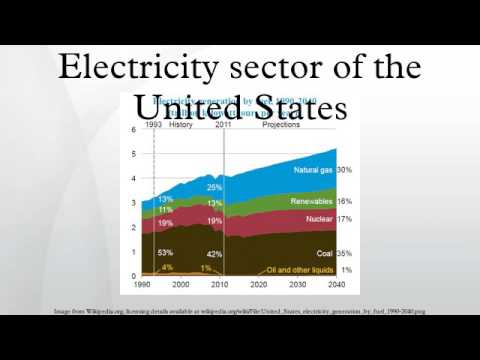 Electricity sector of the United States