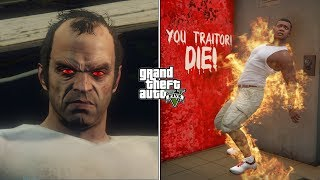 What Trevor's Ghost Will Do If You Kill Ron After Trevor's Death in GTA 5? (Hidden Secret)