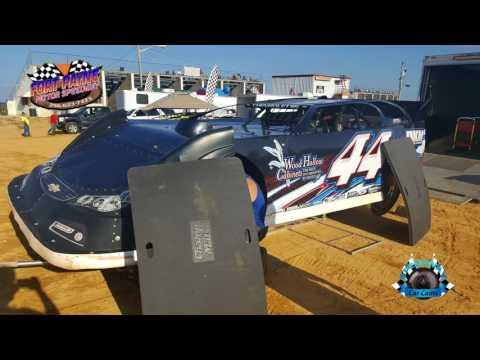 #44 Colby Kilgore - Super Late Model - 7-28-17 Fort Payne Motor Speedway - In Car Camera