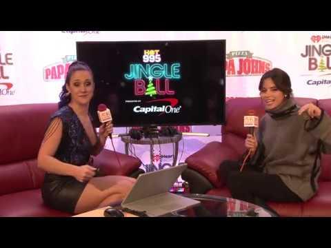 Camila Cabello explains You Do You backstage at Hot 995 Jingle Ball Interview