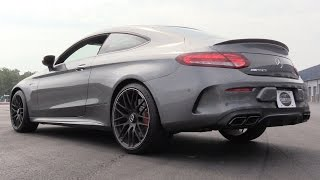 Pure Sound: 2017 Mercedes-AMG C63 S Coupe (Start Up, Revs, Acceleration & Drive Modes)
