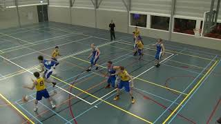 4 november 2017 BV oegstgeest M22 vs Rivertrotters M22 77-49 1st period