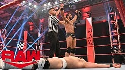 Drew McIntyre Imbattable! Résultats WWE RAW 20 Avril 2020